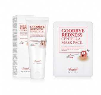 BENTON Zestaw Promocyjny Goodbye Redness Centella Gel + Goodbye Redness Centella Mask Pack