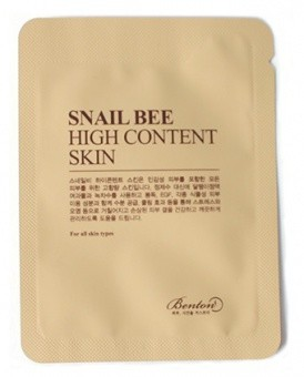 BENTON Tonik do twarzy Snail Bee High Content Skin 1,2ml TESTER
