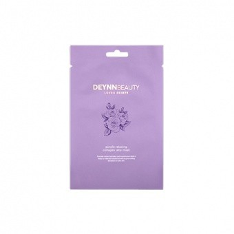 SKIN79 DEYNNBEAUTY LOVES Żelowa maseczka Purple Relaxing Collagen Jelly Mask 30g
