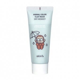 SKIN79 Nawilżająca maseczka w kremie Animal Color Clay Mask Dry Monkey 70ml