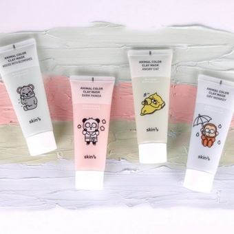 SKIN79 Oczyszczająca maseczka w kremie Animal Color Clay Mask Mouse with Blemishes 70ml