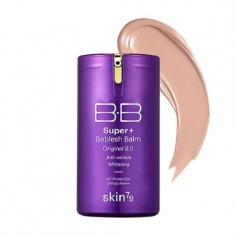 SKIN79 TESTER Krem BB Super+ Beblesh Balm Purple 1g