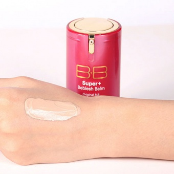 SKIN79 TESTER Krem BB Hot Pink Super+ Beblesh Balm Triple Functions 1g